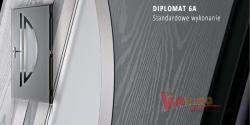 Drzwi kompozytowe ARCTIC Plus Diplomat 6A