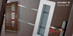 Drzwi kompozytowe ARCTIC Plus Diplomat 45